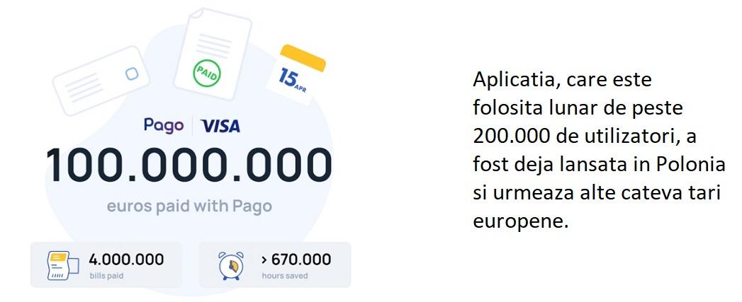 Aplicatia Pago anunta patru mil. de facturi platite si o valoare a platilor procesate de peste 100 mil. euro, dupa primii trei ani de activitate