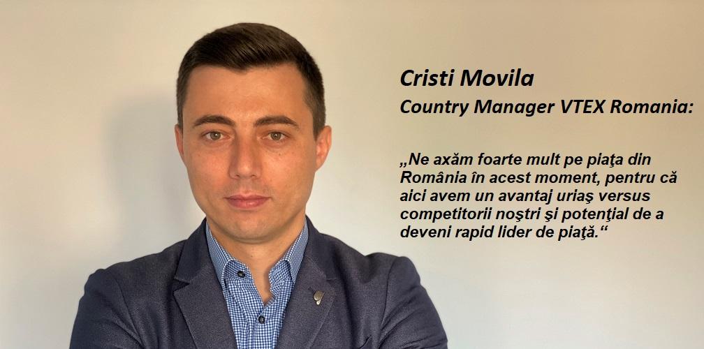 """VTEX va investi peste 3 mil. USD anul acesta in Romania, dublu fata de 2020. """"Avem potential de a deveni rapid lider de piata."""""""