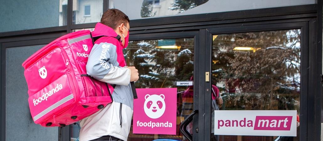 foodpanda Romania lanseaza pandamart, magazine proprii din care livrarea se face in maximum 30 de minute