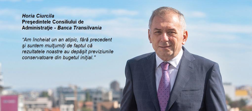 Banca Transilvania – 340 mil. tranzactii cu cardul in 2020, +22% fata de 2019