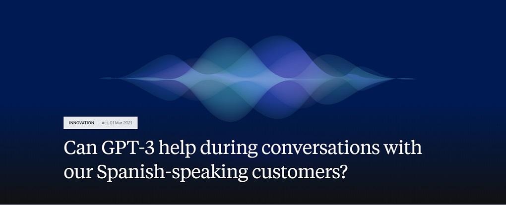 BBVA experiments with AI to summarise customer conversations