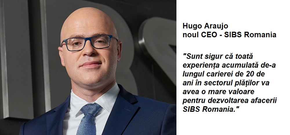 Hugo Araujo este noul CEO SIBS Romania