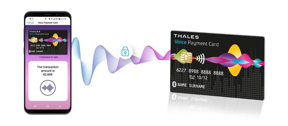 Cardul bancar cu aplicație vocală de la Thales Gemalto. Ascultă înainte să plătești!