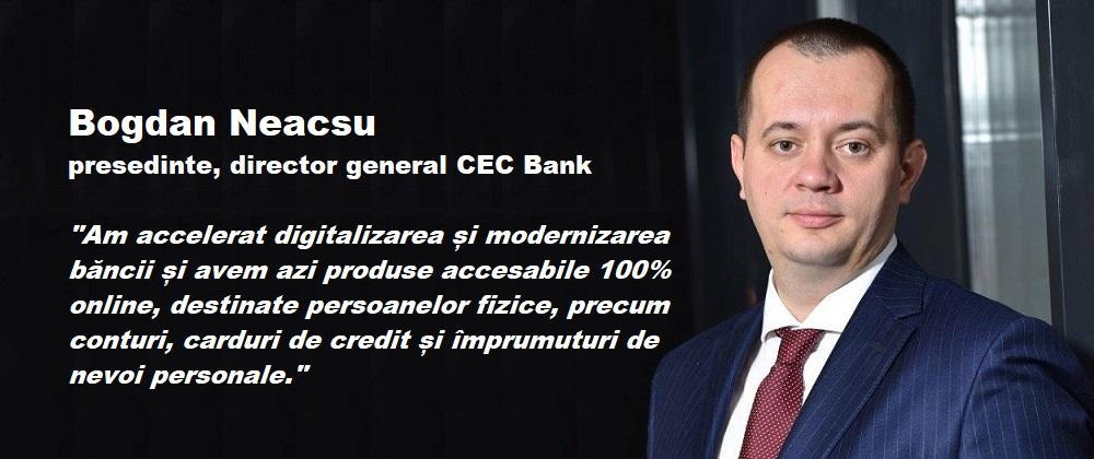 Continua procesul accelerat de modernizare a CEC Bank. Până la finalul acestui an, vor fi înlocuite aproape 700 de bancomate și multifuncționale, reprezentând circa jumătate din întreaga flotă a bancii.