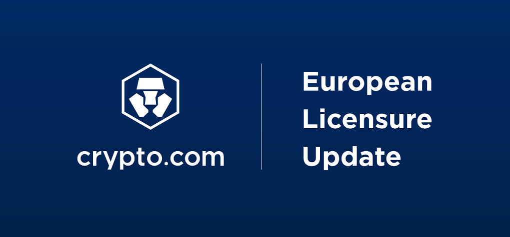 Crypto.com becomes the first global cryptocurrency platform to receive a EU Class 3 Virtual Financial Assets (VFA) Service Provider Licence