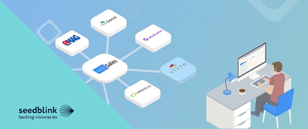 easySales se listeaza pe SeedBlink pentru o finantare de 350.000 euro