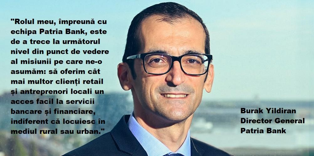 Patria Bank si-a luat director general de la Garanti. BNR a avizat favorabil numirea.