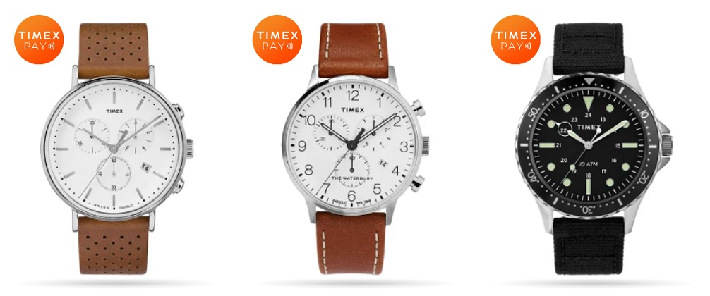 """Timex launches wearable payments with Visa. """"Consumers in the US for the very first time can add their own payment card to their own choice of traditional timepiece."""""""