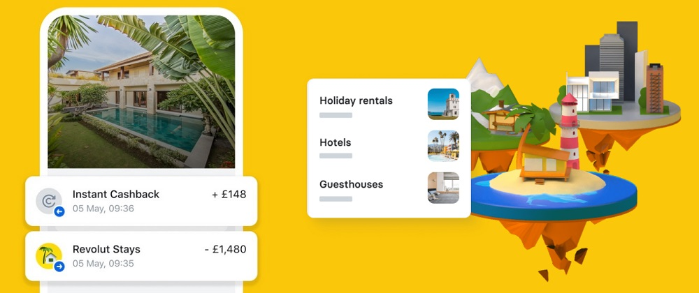 Revolut moves into travel sector and launches a booking service