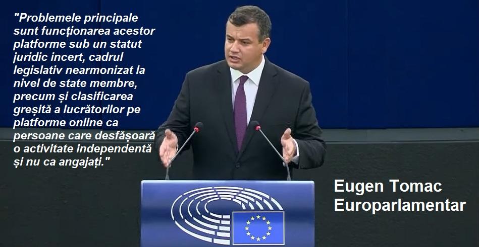 Un europarlamentar roman cere Comisiei Europene ajustarea de urgenta a legislatiei platformelor online